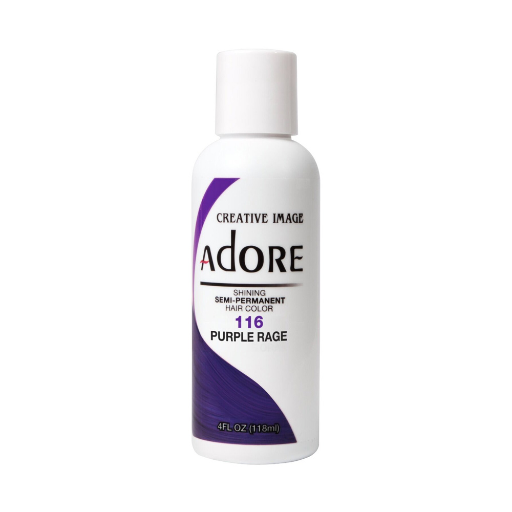 Hair Colour Main View for Adore - Purple Rage -116 118ml