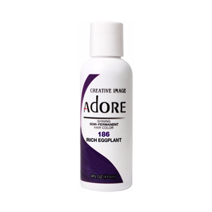 Hair Colour Teaser for Adore - Rich Eggplant - 186 118ml