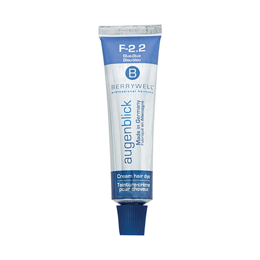 Hair Colour Main View for Berrywell Blue Blue 15ml Tube