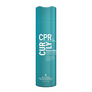 CPR Curly Bounce Back Sulphate Free Shampoo 300ml