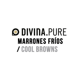 Hair Colour Teaser for Divina Pure Cool Browns
