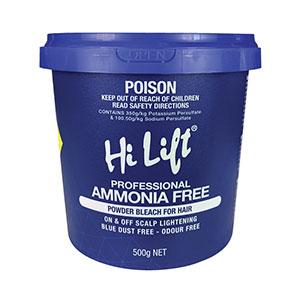 Hair Colour Teaser for Ammonia Free Bleach 500g Tub by Hi Lift