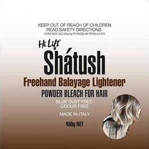 Hair Colour Teaser for Hi Lift Shatush Balayage Bleach 450g