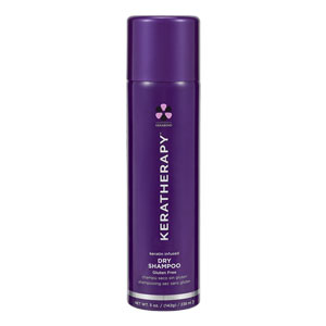 Hair Colour Teaser for Keratherapy Keratin Infused Dry Shampoo Gluten Free 238ml