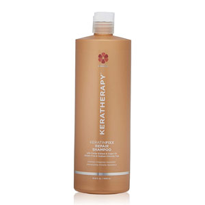 Hair Colour Teaser for Keratherapy Keratinfixx Repair Shampoo 1ltr
