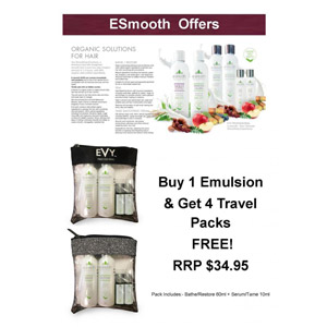 Retail Products Teaser for E Smooth Travel Pack