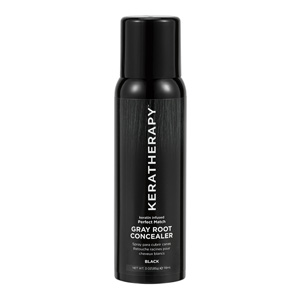 Retail Products Teaser for Keratherapy Grey Root Concealer Black 118ml