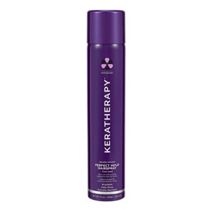 Retail Products Teaser for Keratherapy Keratin Infused Perfect Hold Hairspray (Firm Hold) 335ml
