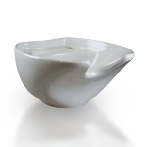 White Coral Ceramic Basin