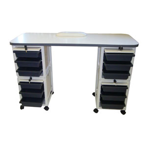 Salon Furniture Teaser Bliss Manicure Table