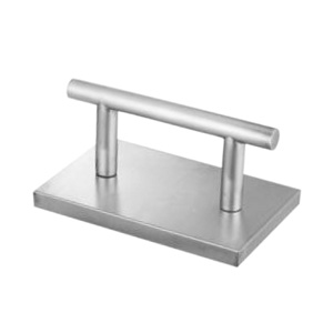 Footrest - One Bar Stainless Steel