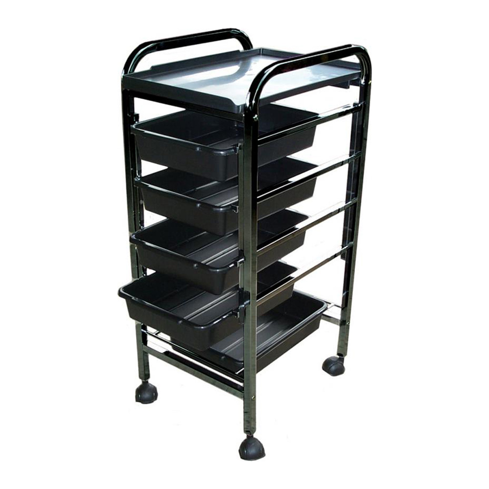 Salon Furniture Main View for Apollo Hairdressing Trolley