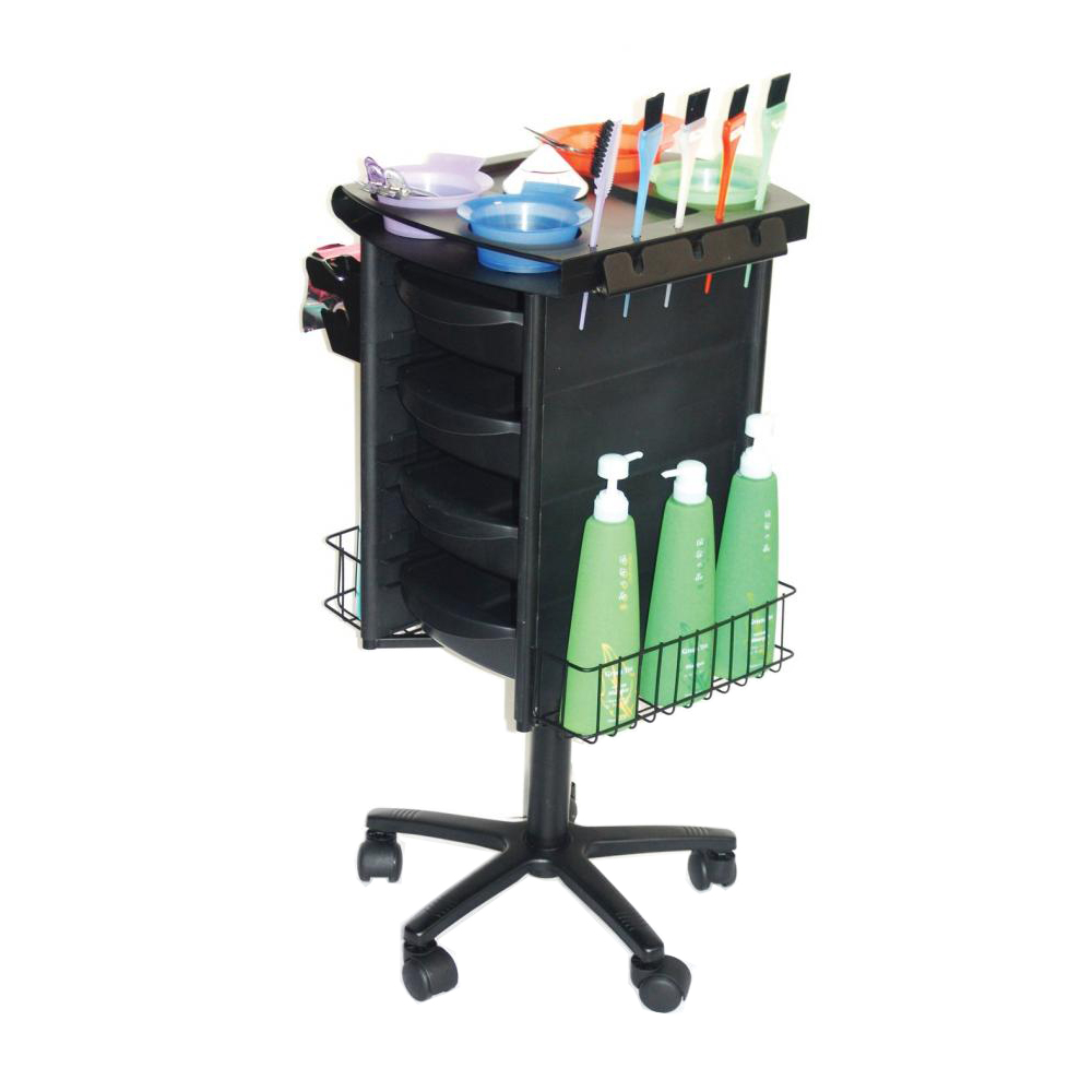 Salon Furniture Main View for Colorist Hairdressing Trolley