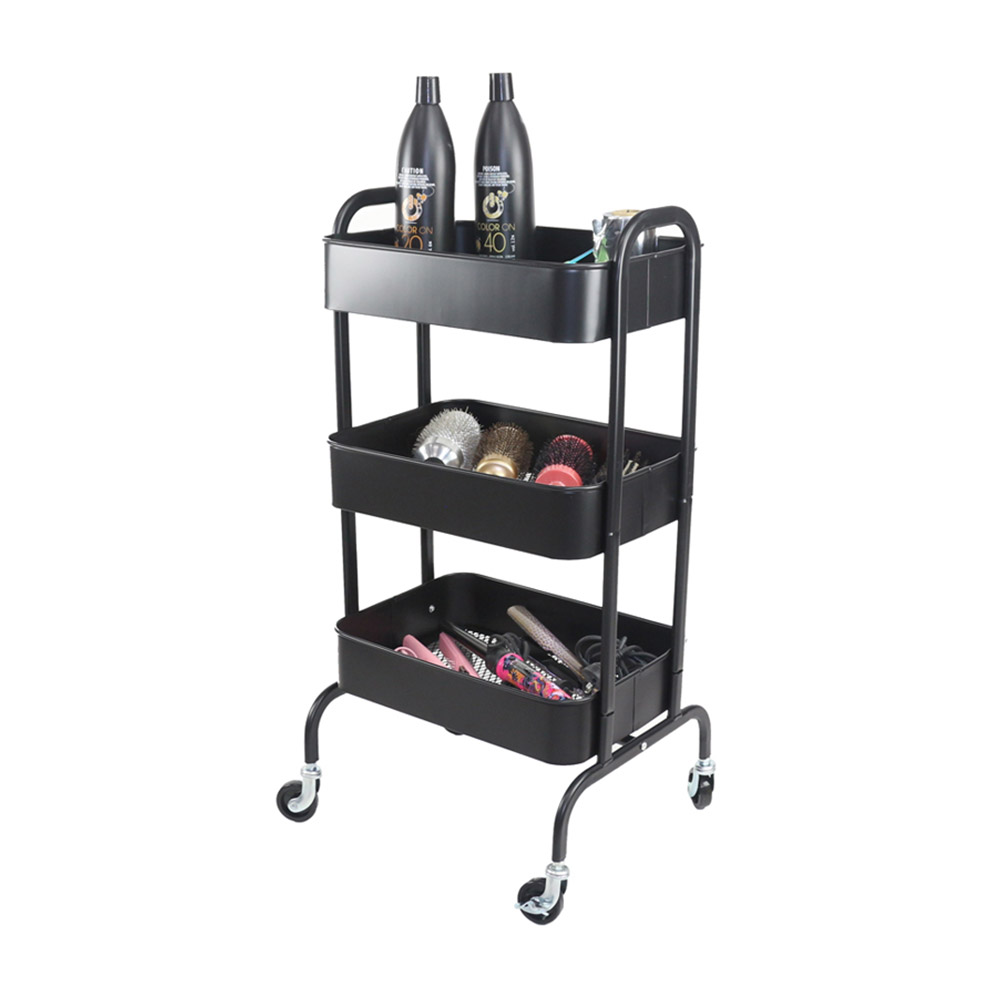 Salon Furniture 1st Additional View for Cupid Trolley - Black