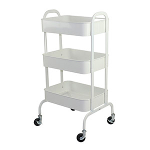 Salon Furniture Teaser for Cupid Trolley - White