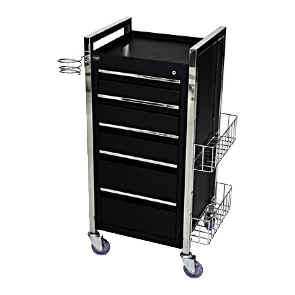 Salon Furniture Main View for Twilight Hairdressing Trolley