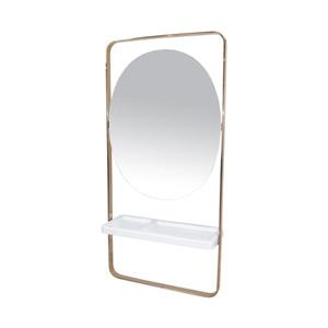 Salon Furniture Teaser for Ethan Styling Station - Rose Gold Frame