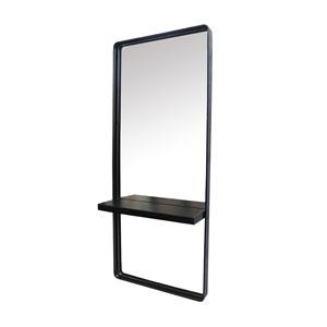 Salon Furniture Teaser for Knox Styling Station - Metal Shelf
