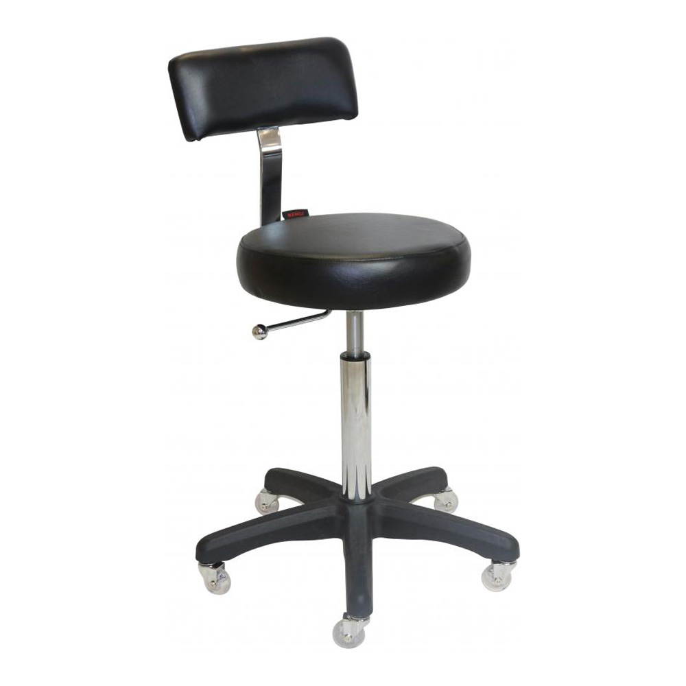 Black Sprint Stool with Black Base