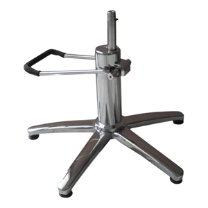 Chrome 5 Star Hydraulic Base