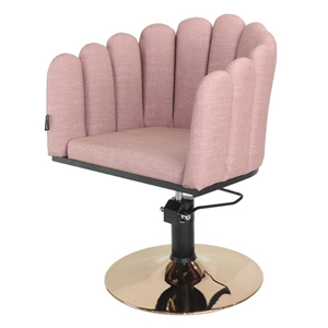 Penelope Styling Chair - Dusty Pink Teaser