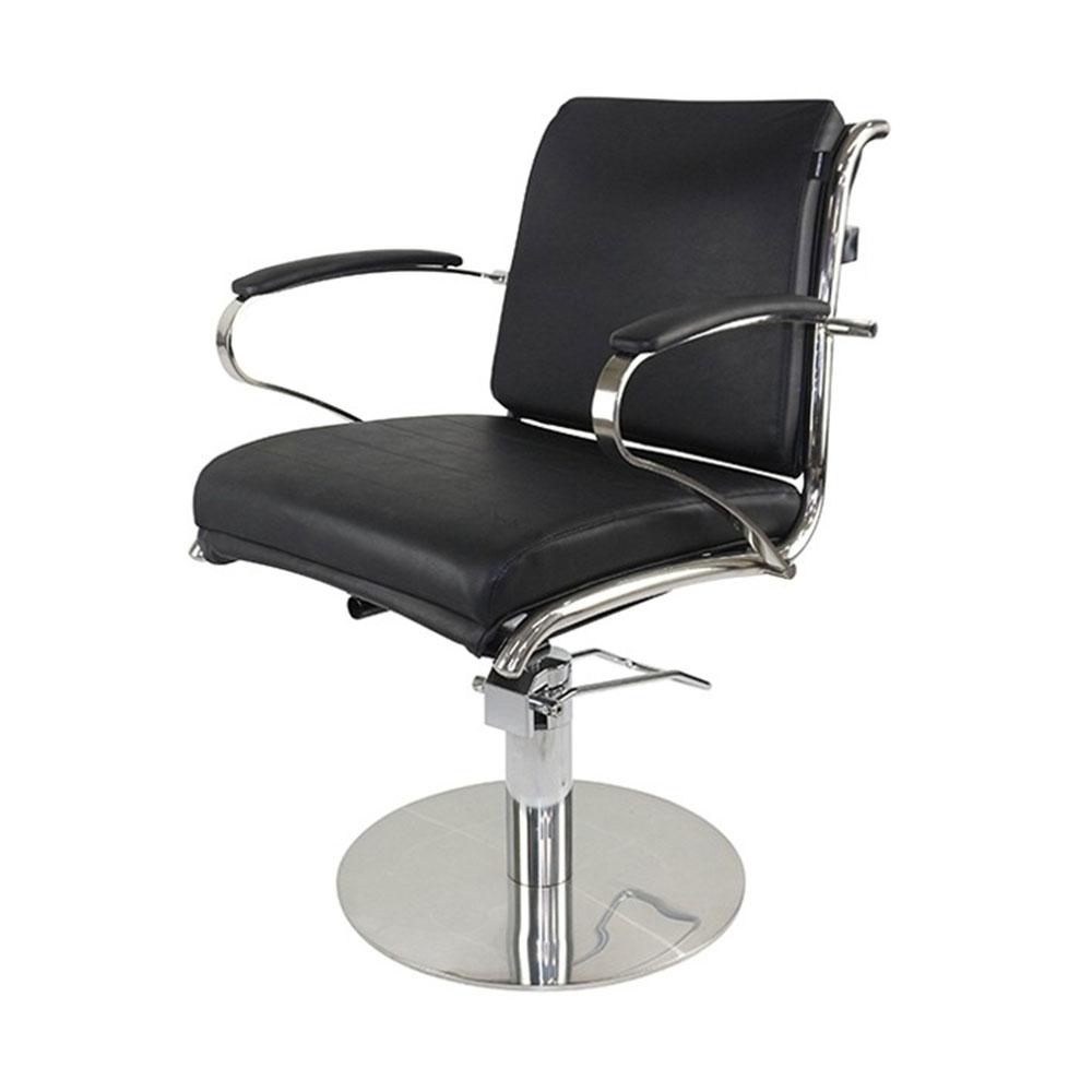 Bardot Styling Chair Black Upholstery