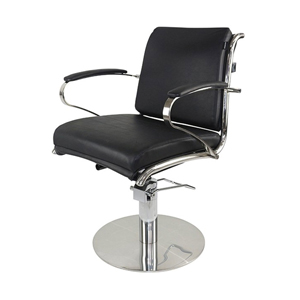 Bardot Styling Chair Black Upholstery