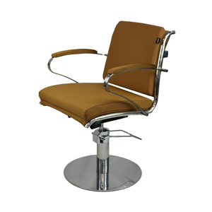 Bardot Styling Chair Camel Upholstery