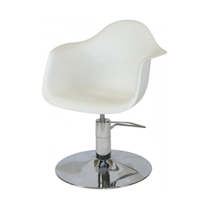 Erica Styling Chair White Seat