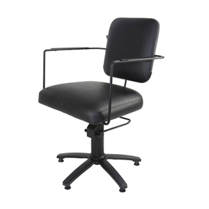 Estelle Styling Chair Black Upholstery