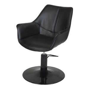 Kate Styling Chair Black Upholstery