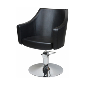 Layla Styling Chair Black Upholstery