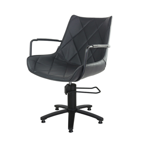 Taylor Styling Chair Black Upholstery