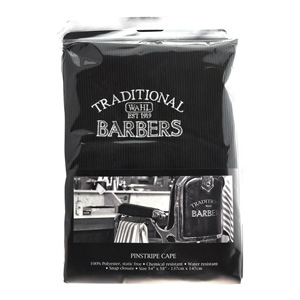 Salon Supplies Teaser for Traditional Barbers Pin Stripe Cape
