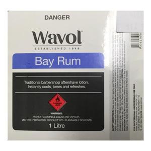 Salon Supplies Teaser for Wavol Bay Rum 1ltr