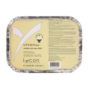 Salon Supplies Teaser for LyCOflex Vanilla Hot Wax 1kg