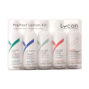 Salon Supplies Teaser for Lycon Pre & Post Lotion Kit