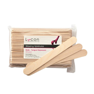 Salon Supplies Teaser for Lycon Spatula-Body-Tongue Depressors 100pc