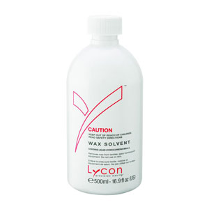 Salon Supplies Teaser for Lycon Wax Solvent 500ml
