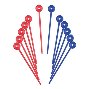 Salon Supplies Teaser for Plastic Roller Pins pk 100