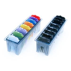 Salon Supplies Teaser for Clipper Combs Set Black 1-8