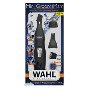 Salon Supplies Teaser for Wahl Mini Groomsman Wet/Dry 3 in 1 Personal Trimmer