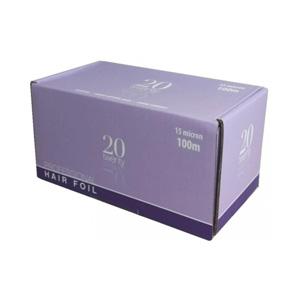 Salon Supplies Teaser for 20 Twenty Foil 12cm x 100mtr 15mic