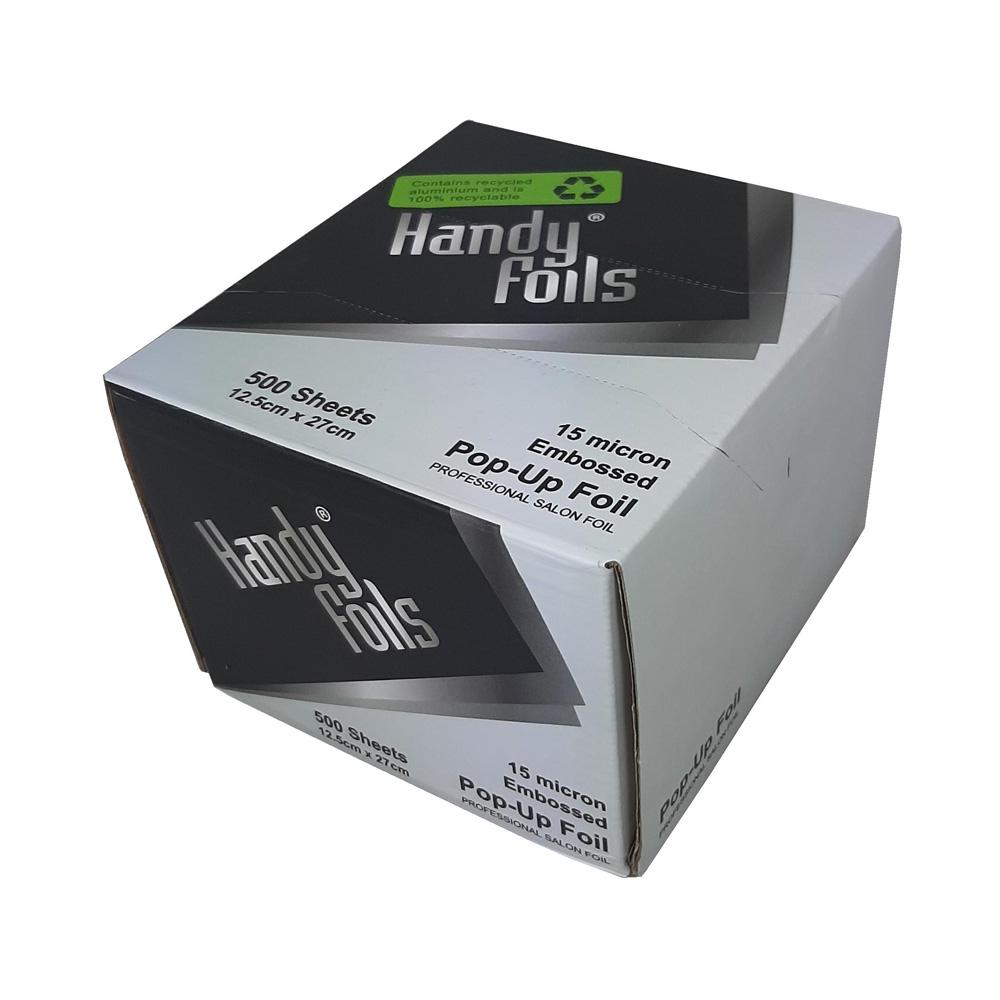Salon supplies main view for Handy Foils Pop-Up Foil Sheets