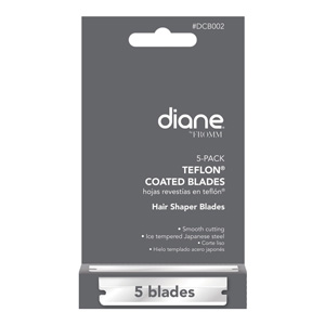 Salon Supplies Teaser for Diane Shaper Blades pk of 5