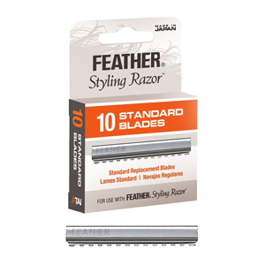 Salon Supplies Teaser for Feather Styling Blades pk of 10