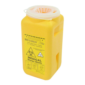 Salon Supplies Teaser for Sharps Disposal Unit ASA Approved