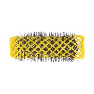 Salon Supplies Teaser for Swiss Brush Roller Yellow 20mm 6pk