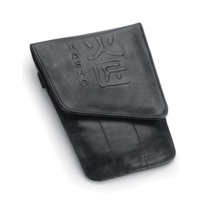 Salon Supplies Teaser for Kasho 6 Pocket Leather Scissor Pouch