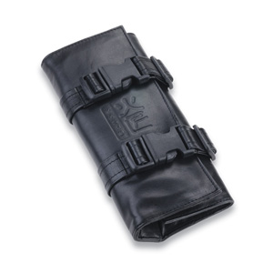 Salon Supplies Teaser for Kasho 6 Scissor Leather Folding Pouch
